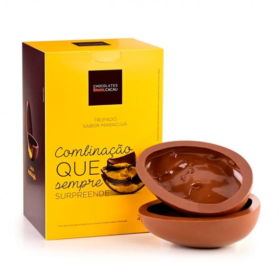 Easter Egg Brasil Cacau Passion Fruit Truffle 400g