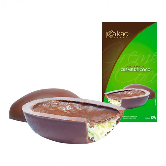 Coconut Cream Easter Egg Kakaobonne 350g